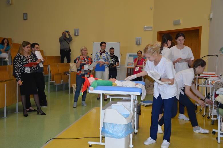 Zespół z Krosna podczas rywalizacji finałowej.