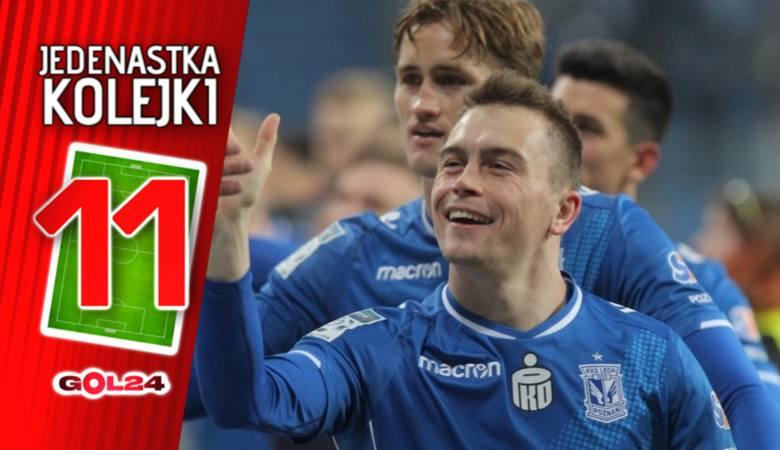 Lech wrócił. Jedenastka 23. kolejki Lotto Ekstraklasy według GOL24 [GALERIA]