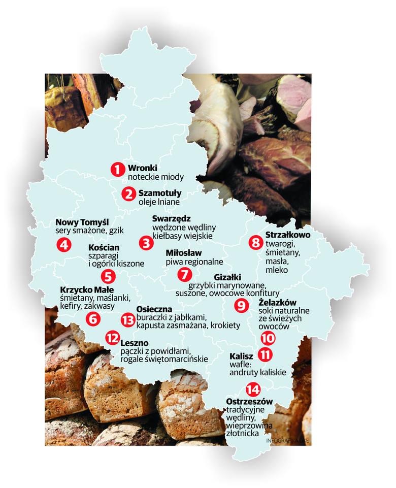 Wielkopolska kuchnia kusi wiejskimi wyrobami i tradycją [GALERIA]