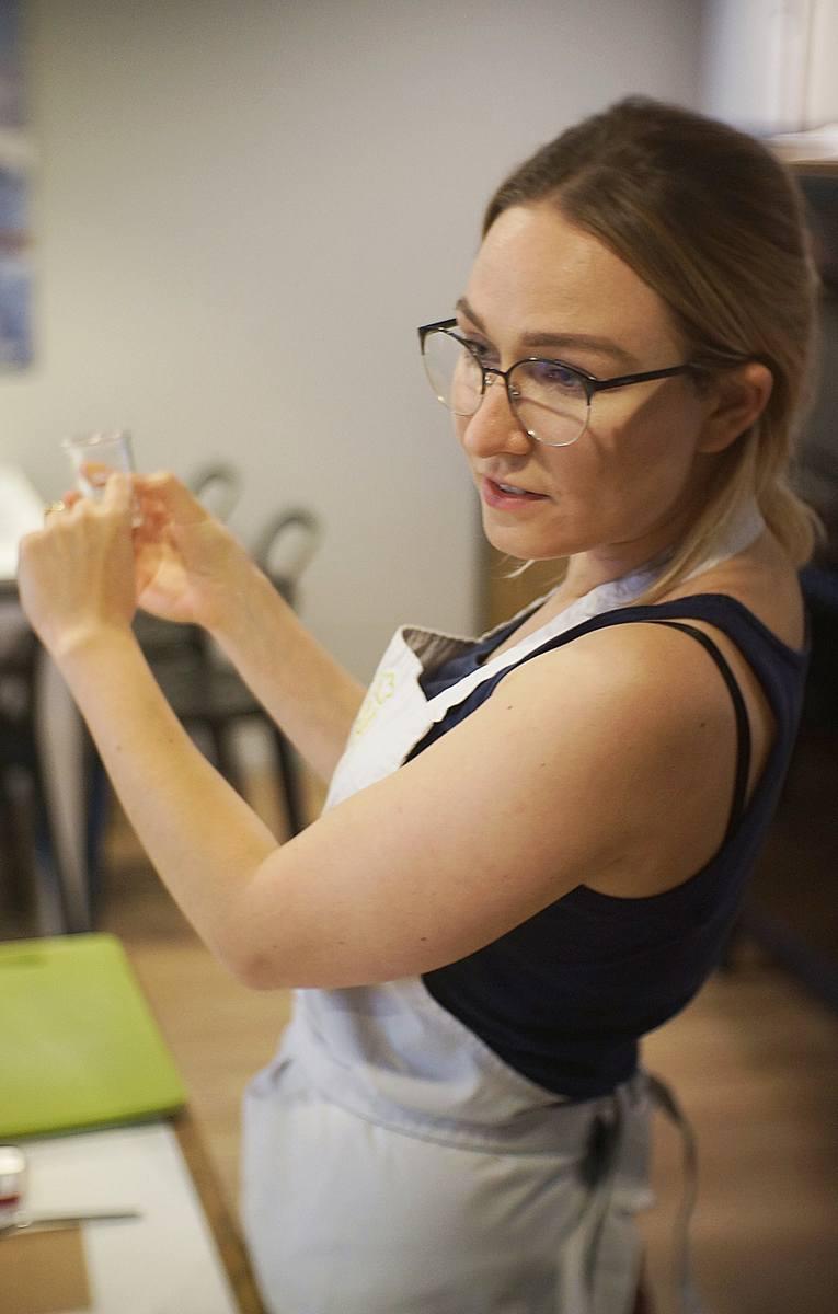 Aleksandra Krasnodębska-Gwardzik (firma Svoje). Praca jest jej wielką pasją.