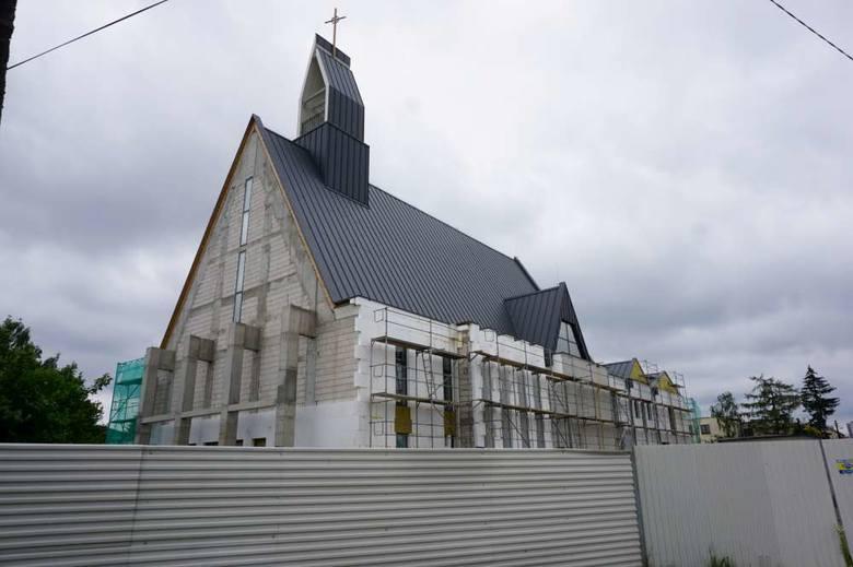Nowy kościół na Naramowicach. Za pieniądza z odszkodowania