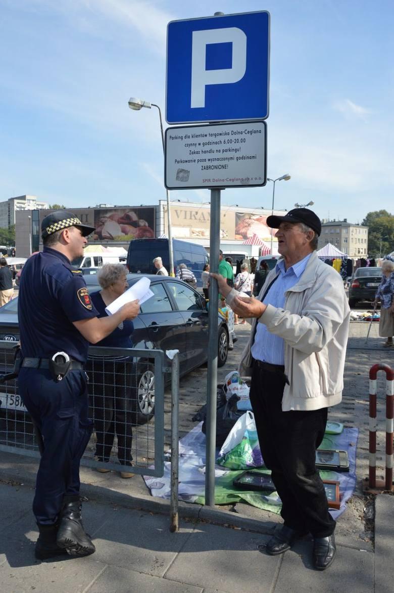 We wtorek na targowisku interweniowali strażnicy miejscy.