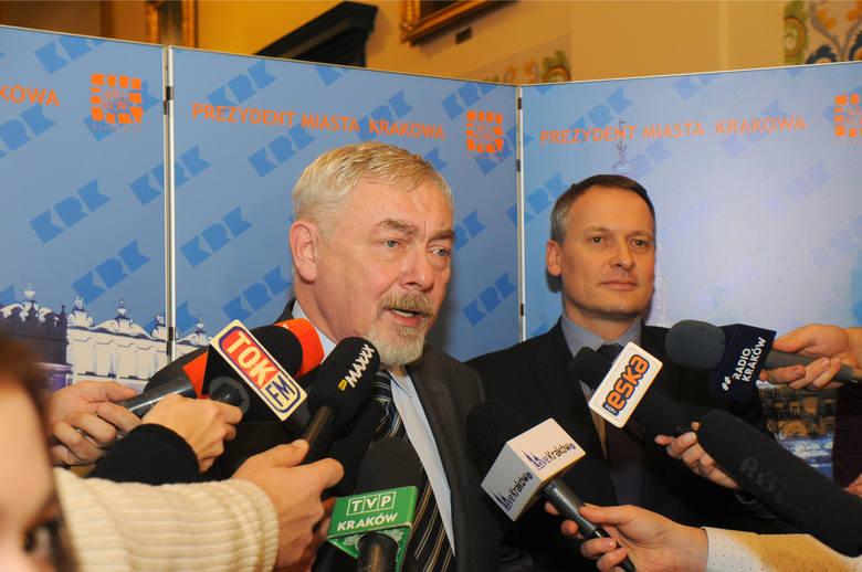 Witold Śmiałek współpracuje z prezydentem Krakowa od 2015 roku