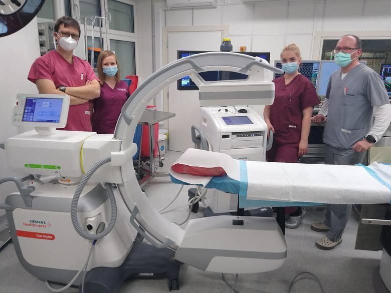 Sprzęt pod choinkę dla kardiologii słupskiego szpitala