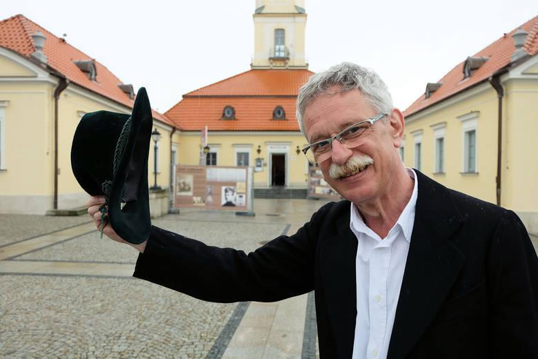 Andrzej Lechowski, dyrektor Muzeum Podlaskiego w Białymstoku