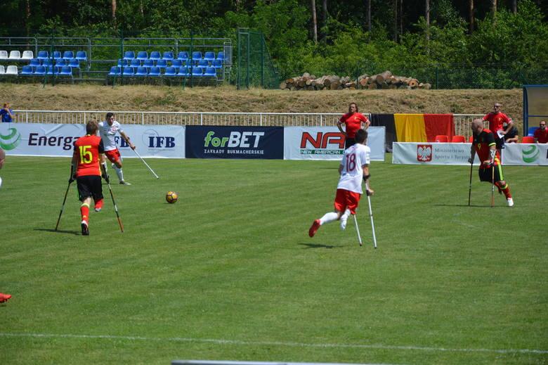 Mecz Amp futbol Polska - Belgia Rzepin. 22 czerwca w Rzepinie