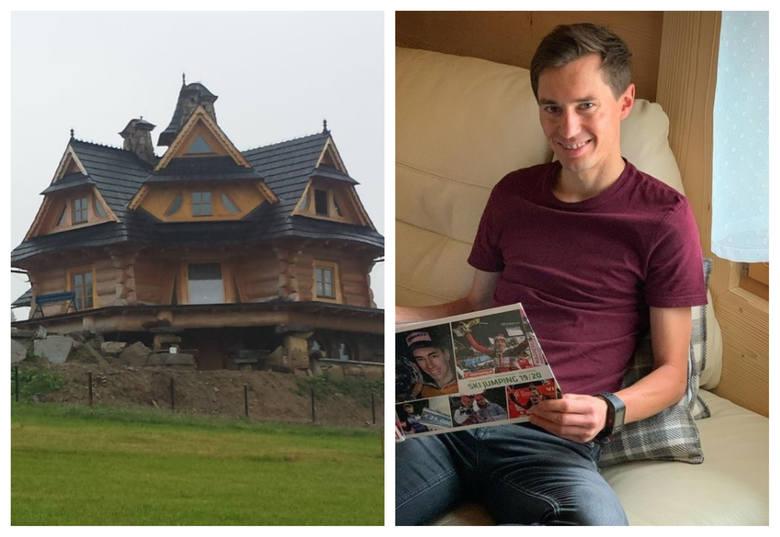 Kamil Stoch mieszka w naprawdę wyjątkowym domu. Trzykrotny mistrz olimpijski wybudował sobie prawdziwy góralski pałac, który jest ozdobą miejscowości