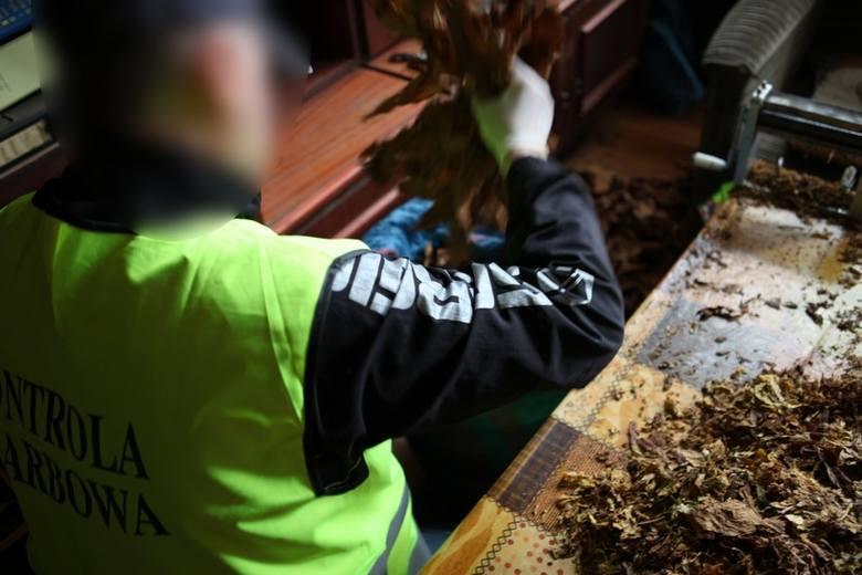 Rynek Łazarski: W warzywniaku sprzedawali nielegalny tytoń