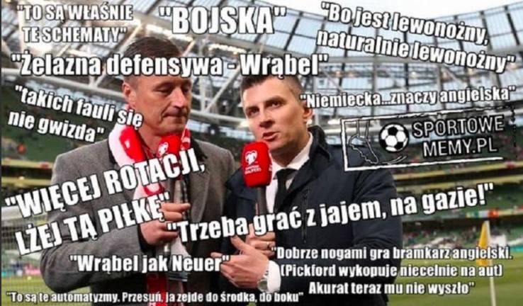 Polska przegrała z Anglią, bo bez Lewego i Hajty nie mieliśmy szans MEMY [3.04]
