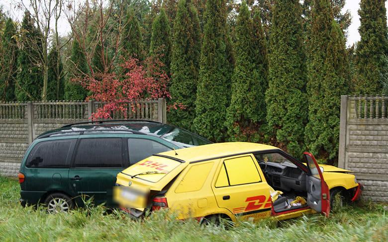 Jedna osoba została poszkodowana i przewieziona do szpitala w wyniku wypadku do jakiego doszło po godzinie 12 w Strzegowie (gm. Wolin).
