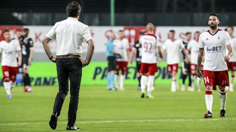 Trener Wojciech Stawowy przeprasza kibiców ŁKS