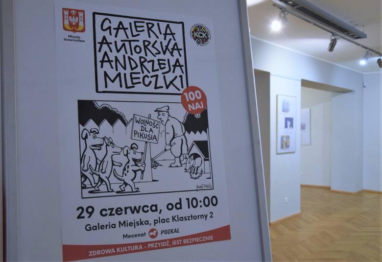 Tę i inne prace Andrzeja Mleczki obejrzeć można obecnie w inowrocławskiej Galerii Miejskiej