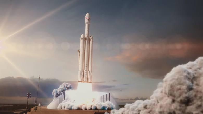 Falcon Heavy na najniższą orbitę jest w stanie wynieść ładunek o masie przekraczającej 69 ton!