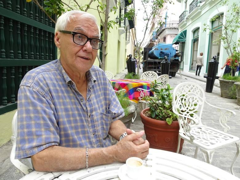 Erasmo Hernandez - jeden z dwóch kucharzy Fidela Castro. Na szczęście on nie musiał być testerem jedzenia dla wodza
