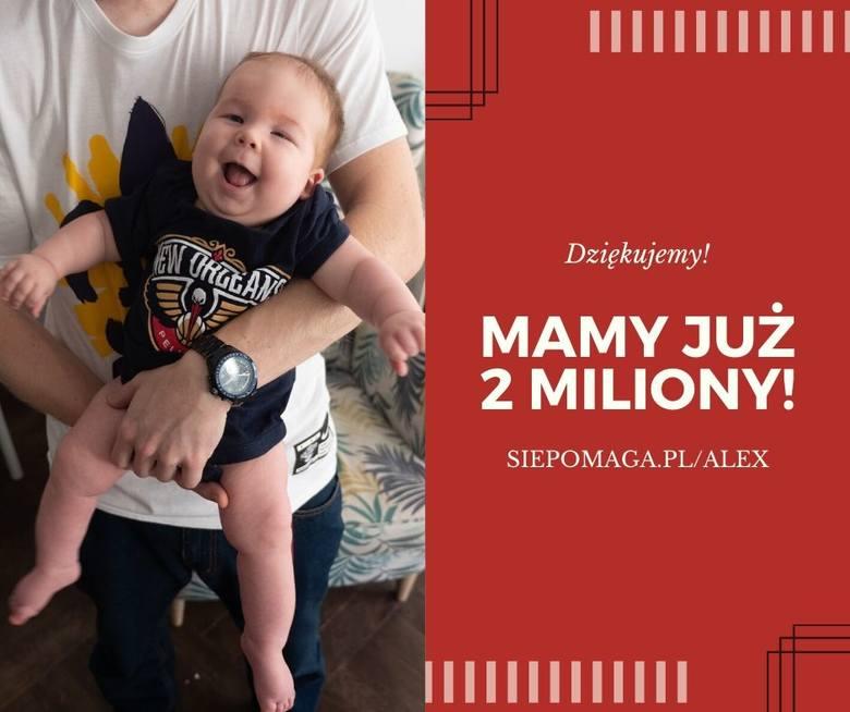 Mały Alex choruje na rdzeniowy zanik mięśni. Trwa zbiórka na leczenie i rehabilitację chłopca