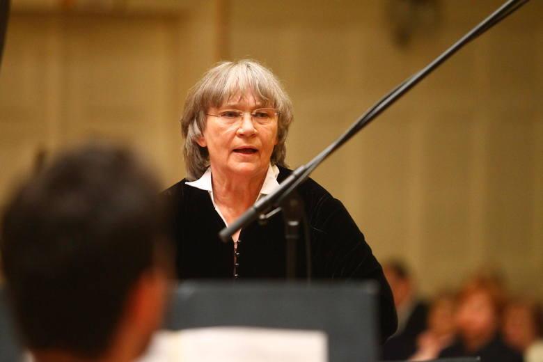 Koncertem Amadeusa zadyryguje Agnieszka Duczmal