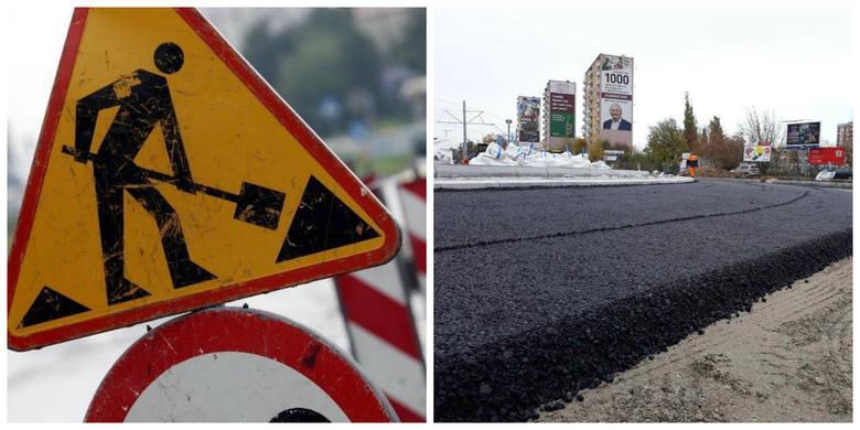 W Toruniu trwają roboty drogowe. W decydująca fazę wchodzi przebudowa placu Chrapka. Zamknięto także jeden pas Ligi Polskiej w kierunku Kaszczorka. >>>>>