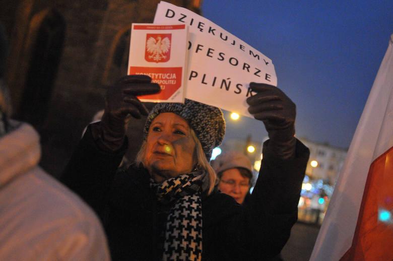 protest KOD w Gorzowie