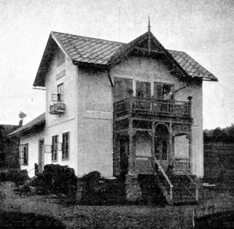Zdjęcie Ochorowiczówki z 1905 roku