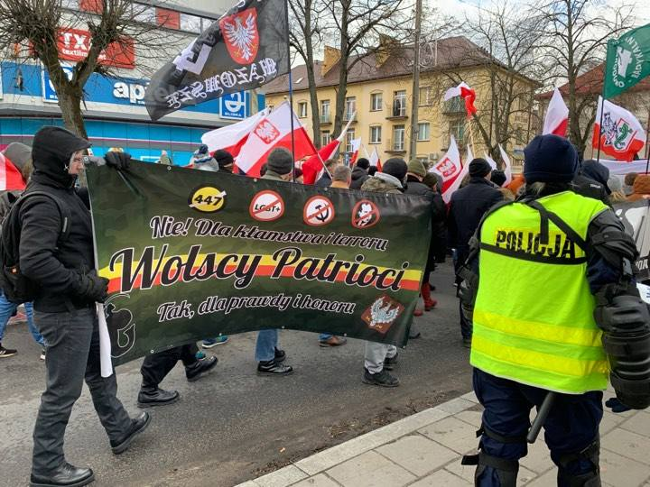 V Hajnowski Marsz Pamięci Żołnierzy Wyklętych (zapis relacji live)