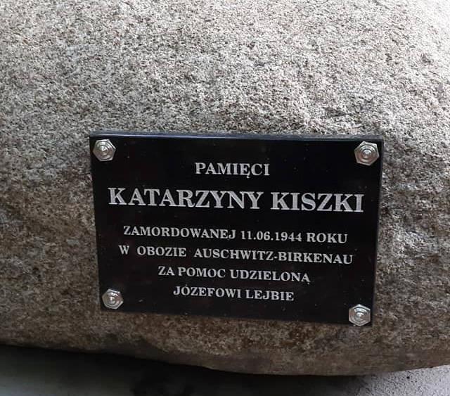Dzięki badaniom prof. Sabiny Bober z Katolickiego Uniwersytetu Lubelskiego udało się upamiętnić tragiczną historię Józefa Lejby i Katarzyna Kiszka z Harty.