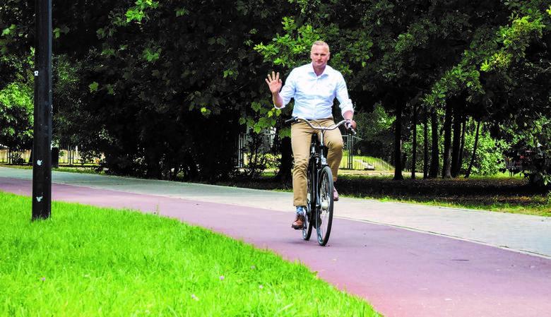 Rafał Siciński: kiedy pojawiają się dobrze wykonane trasy rowerowe, rowerzystów przybywa. Oficer rowerowy z Sosnowca radzi