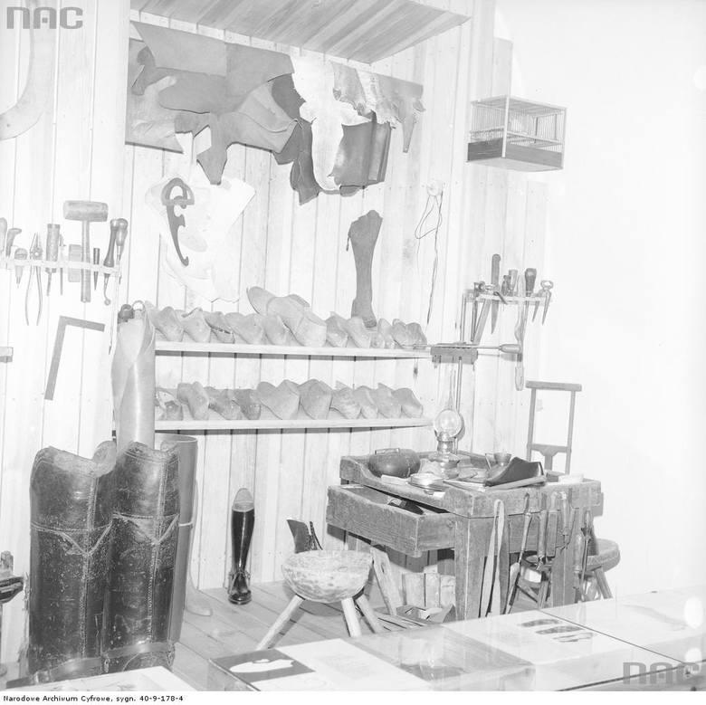 Warsztat szewski w Muzeum Rzemiosł Skórzanych