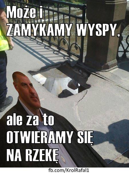 Dutkiewicz jako Król Rafał I. Internauci śmieją się z prezydenta Wrocławia (MEMY)