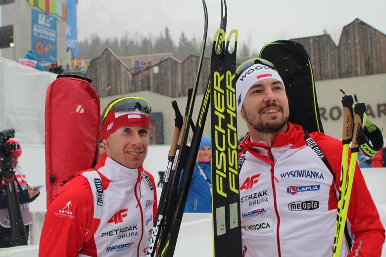 Łukasz Szczurek i Grzegorz Guzik