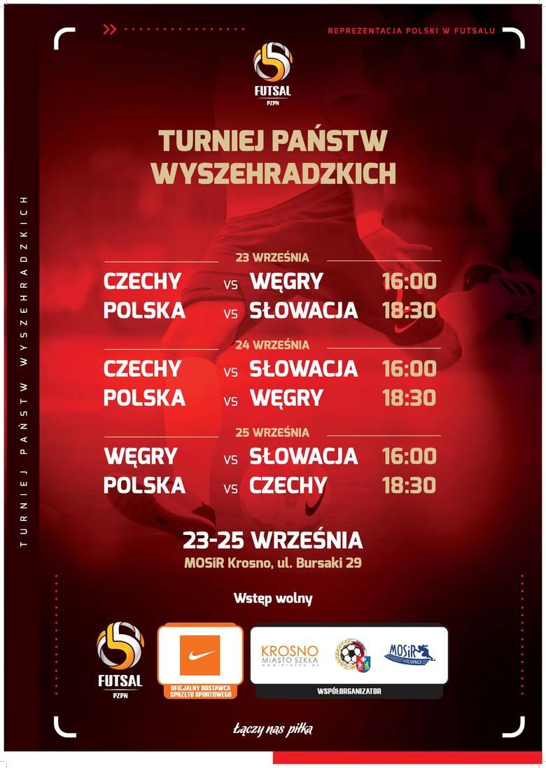 Reprezentacja Polski trenuje w Krośnie, futsal na najwyższym poziomie wraca na Podkarpacie