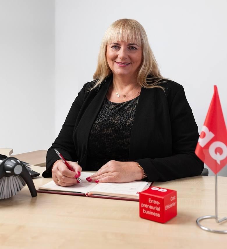 Ewa Sulewska, dyrektor zarządzający w AQ Wiring Systems STG sp. z o.o. w Linowcu