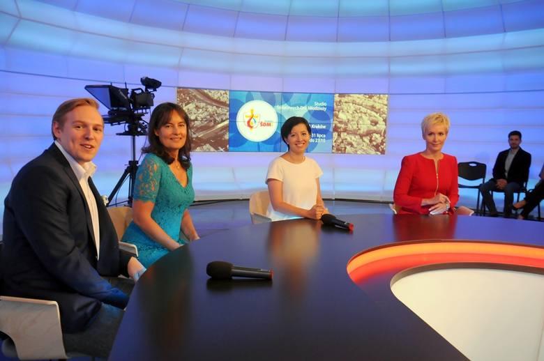 W czasie ŚDM prezenterzy będą nadawać przez 17 godzin dziennie z nowego studia na Krzemionkach