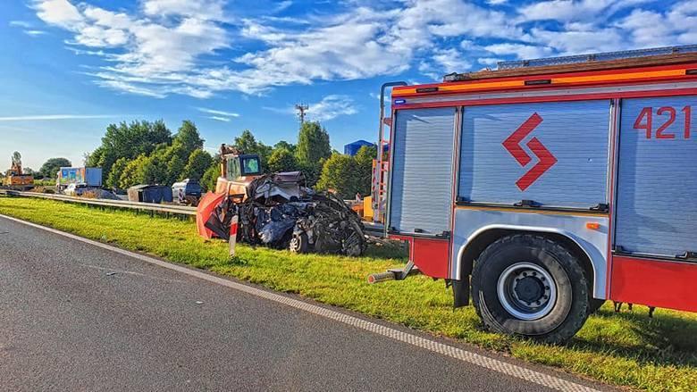 Śmiertelny wypadek na A4 w Chrzanowie