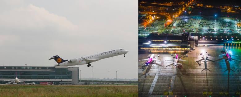 Lotnisko w Pyrzowicach i akcja #10yearcchallenge. Zobacz jak zmienił się katowicki port lotniczy >>>