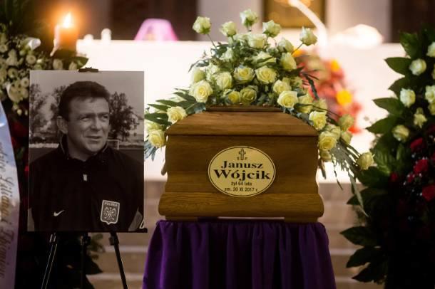 Pogrzeb Janusza Wójcika - legendarnego trenera reprezentacji, byłego trenera JagielloniiJanusza Wójcika, legendarnego trenera reprezentacji, pożegnały