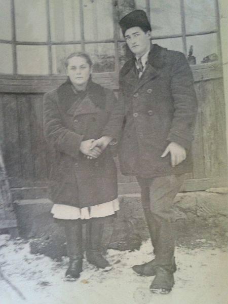 Katarzyna Bandziak godzinami opowiada wnukowi, Mariuszowi Czechowskiemu, o Koropcu. O tym prawdziwym Koropcu, który pamięta.