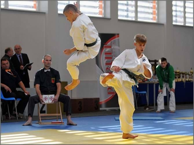 Mistrzostwa Polski karate kyokushin w Koszalinie.