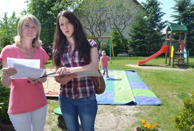 Katarzyna Płoskonka i Olga Jacyszyn: – W sprawie tego sąsiedztwa napisaliśmy już stertę próśb i interwencji. Wszystko na darmo.