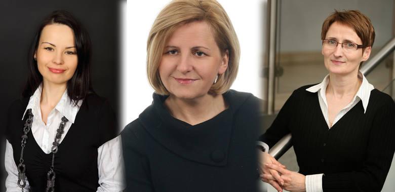 Monika Kościuszkiewicz, Agnieszka Malarewicz-Jakubów i Ewa Jasińska (kolejno od lewej) prowadzą w plebiscycie na Kobietę Sukcesu