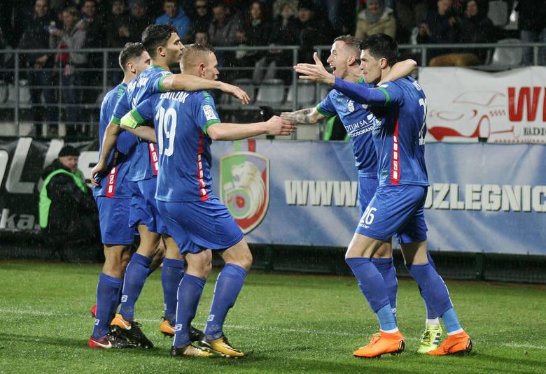 Miedź Legnica przegrała ze Śląskiem Wrocław 0:2 w meczu 36. kolejki LOTTO Ekstraklasy. Oceniliśmy piłkarzy Miedzi Legnica za występ w tym spotkaniu.