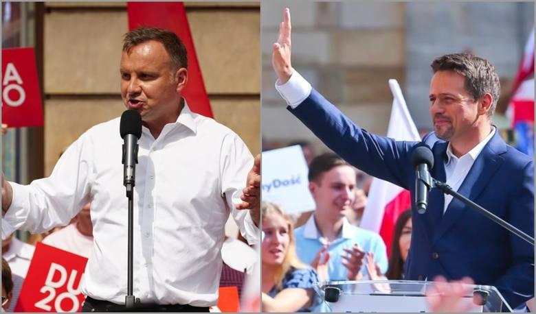 W żadnym z 10 największych polskich miast wyborów nie wygrał Andrzej Duda. A Wrocław? Jest w połowie stawki. Są miejsca, gdzie poparcie dla Rafała Trzaskowskiego
