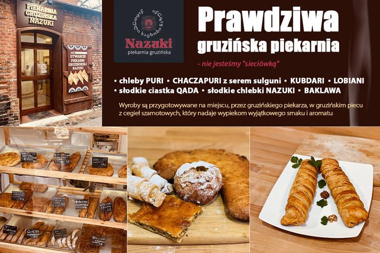 Piekarnia gruzińska Nazuki