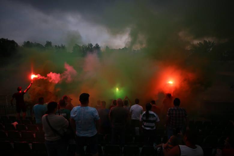 Szombierki Bytom - Ruch Chorzów ZDJĘCIA KIBICÓW