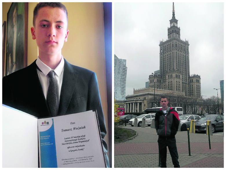 Tomek Woźniak, czyli wolontariusz, jakich mało. A przecież ma dopiero 16 lat.