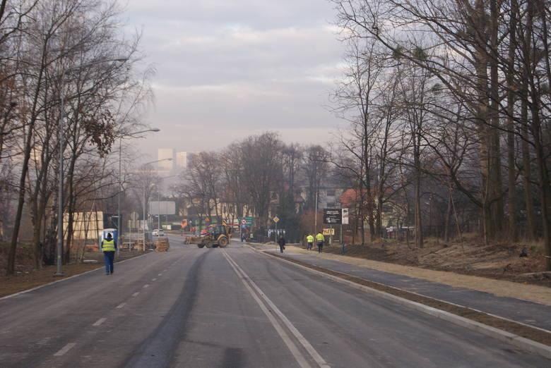 Rybnik: Ulica Kotucza będzie otwarta w czwartek. Zobacz jak wygląda dziś