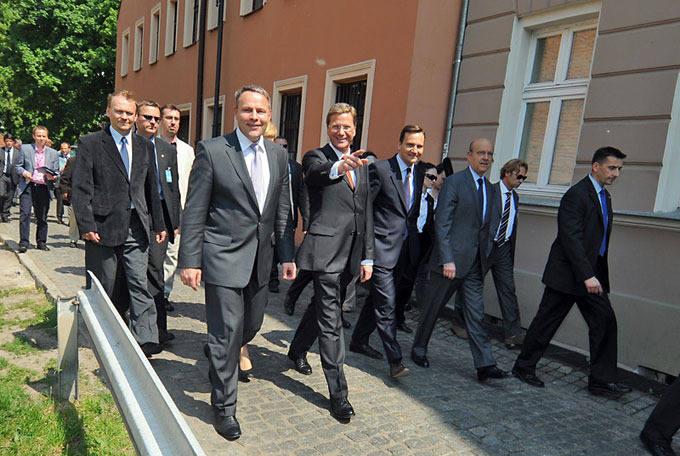 Ministrowie Trójkąta Weimarskiego w  Bydgoszczy