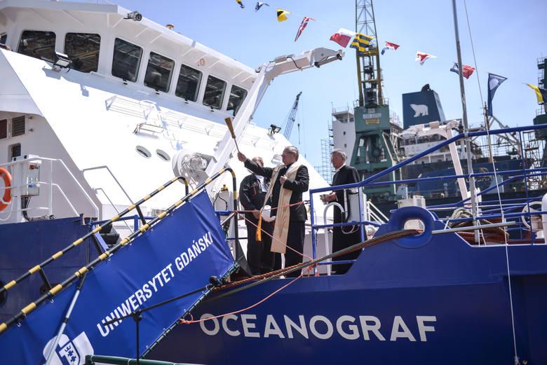 """Chrzest """"Oceanografa"""",  26 czerwca 2016 r."""