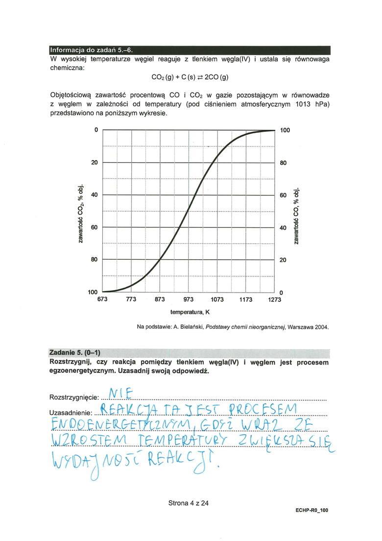 Matura chemia 2021: odpowiedzi