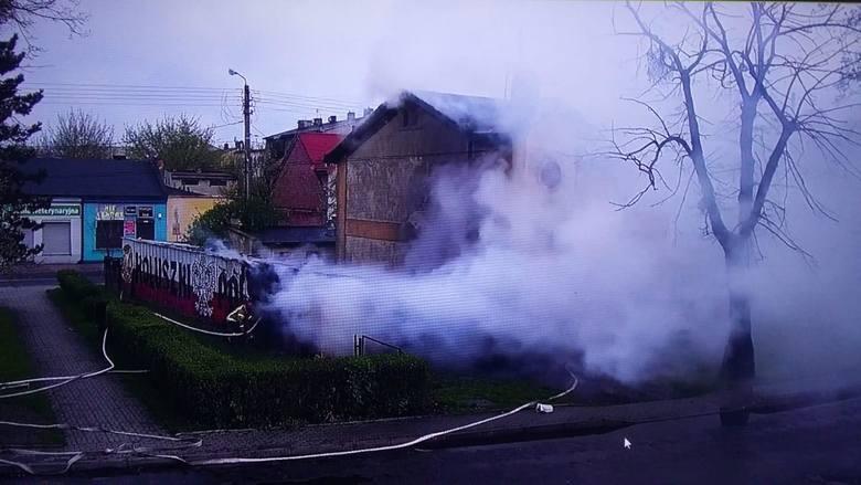 Pożar w kamienicy przy ul. 3 Maja 17 w Koluszkach. Miało tam powstać muzeum historyczne