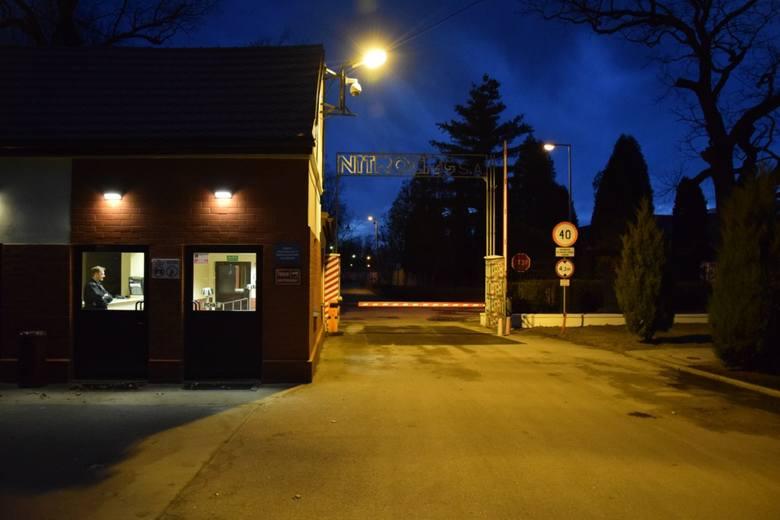 Do wypadku doszło w zakładzie Nitroerg w Krupskim Młynie w czwartek